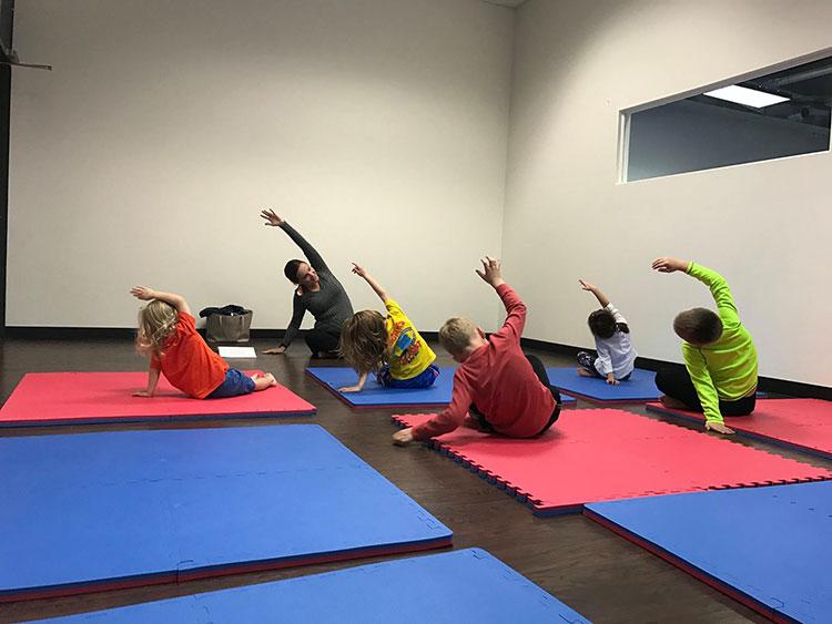 We Rock the Spectrum Dallas Yoga Class