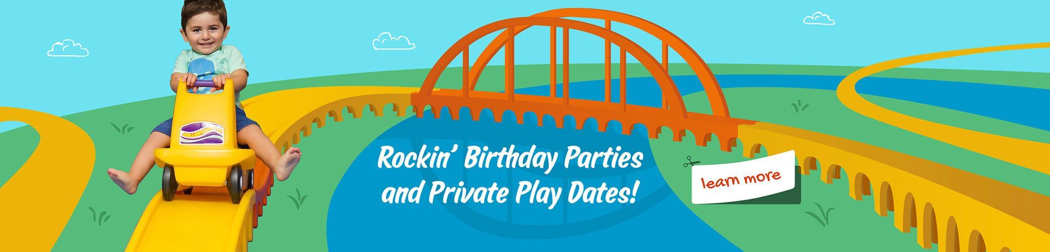 We Rock the Spectrum Dallas Birthday Parties and Private Playdates